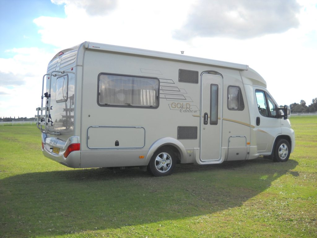 Luxury 4 Birth Camper Van Hire York